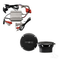 "MP3 Kit with Marine Power Amp and 3"" Speakers"