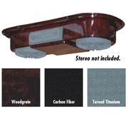 Universal Overhead Radio Console Carbon Fiber