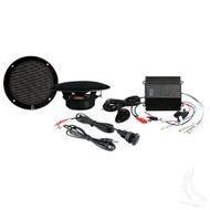 "MP3 Kit with 50 Watt Waterproof Amp and 5"" Speakers"