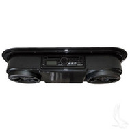 Overhead Radio and CD Audio System - Carbon
