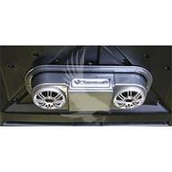 Marine Grade Plug & Play Sony Overhead CD/Radio System-Woodgrain