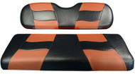MadJax RipTide Two-Tone Front Seat Covers - Black/Moroccan Tan
