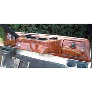 Club Car DS Dash Wood Grain 1982-up