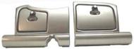 EZGO RXV Dash Turned Titanium (2pc) Doors