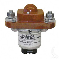 36 Volt 400 Amp Heavy Duty Solenoid - 4 Terminal with Silver Oxide Contacts