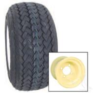 Kenda Hole-In-One Single Tire/Wheel Assembly - Beige