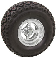 "10"" RHOX Indy, Machined Lifted Tire and Wheel Combo"