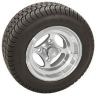 "10"" RHOX Indy, Machined Wheel and Low Profile Tire Combo"