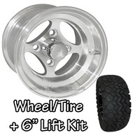 "10"" RHOX Indy Machined Wheel 