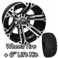 "12"" ITP SS212 Machined Wheels 