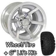 "10"" ITP G5 Evador Machined Wheel 
