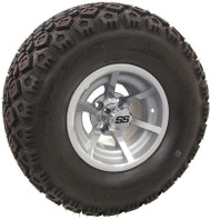 "10"" ITP G5 Evador, Machined Wheel and Lifted Tire Combo"