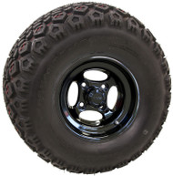 "10"" RHOX Indy, Black Wheel and Lifted Tire Combo"