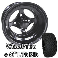 "10"" RHOX Indy Black Machined Wheel 