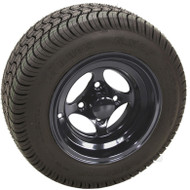 "10"" RHOX Indy Wheel w/black Center Cap and Low Profile Tire Combo"