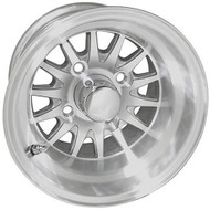 "10"" RHOX Phoenix Machined Golf Cart Wheel"