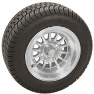 "10"" RHOX Phoenix, Machined Wheel and Low Profile Tire Combo"