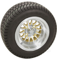 "10"" RHOX Phoenix, Machined Wheel and Low Profile Tire Combination"