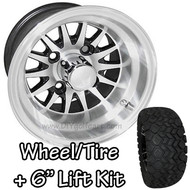 "10"" RHOX Phoenix Machined Black Wheel 