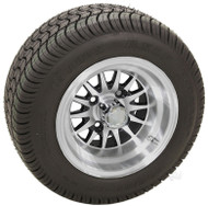 "10"" RHOX Phoenix, Machined Wheel and Low Profile Tire Combo 1"