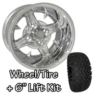 "12"" RHOX Impaler Polished Wheels 