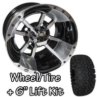 "10"" ITP SS112 Machined Wheel 