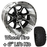 "12"" ITP SS108 Machined Wheels 