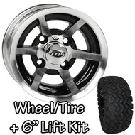 "10"" ITP SS6 Machined Wheel 