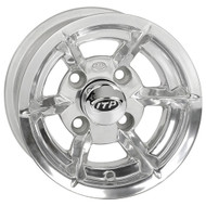 "10"" ITP SS6, 6 Spoke, Polished Golf Cart Wheel"