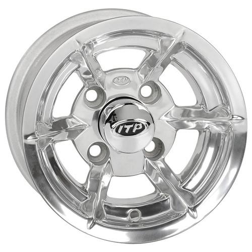 10 Inch Wheels For Golf Cart : Inch itp ss spoke polished golf cart wheel