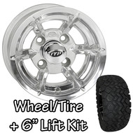 "10"" ITP SS6 Polished Wheel 