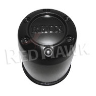 Center Cap, RHOX Black Plastic 2.65