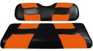 MadJax RipTide Two-Tone Front Seat Covers - Black/Orange