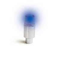 LED Light Up Valve Stems - Blue