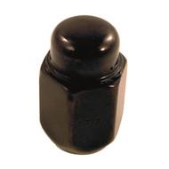 Lug Nut, Acorn Flat Black Metric M12x1.25