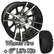 "12"" RHOX RX101 Machined Wheels 