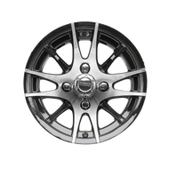 "12"" RHOX RX105, 12 Spoke Machined Golf Cart Wheel"