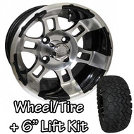 "12"" RHOX RX121 Machined Wheels 