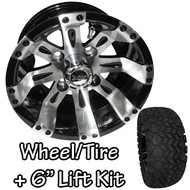 "10"" RHOX RX160 Vegas Machined Wheels 