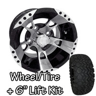 "10"" RHOX RX190 Machined Wheels 