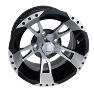 "12"" RHOX RX210 Machined Golf Cart Wheel"