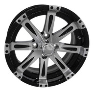 "14"" RHOX Vegas Machined Golf Cart Wheel"