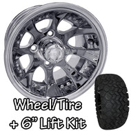 "10"" RHOX RX240 Polished Machined Wheels 