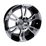 "14"" ITP SS112 Machined Golf Cart Wheel"