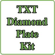 EZGO TXT Diamond Plate Kit Installation Video