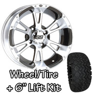 "12"" ITP SS112 Machined Wheels 