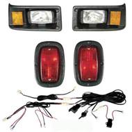 Yamaha (BLACK) G2 & G9 headlight & LED tail light kit