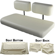 Yamaha G16, G19, G20 and G22 Replacement Front Seat - Ivory Cushions