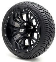 "12"" GTW Diesel SS Matte Black Wheel 