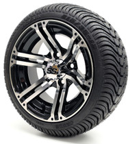 "12"" GTW Specter SS Machine Black Wheel 